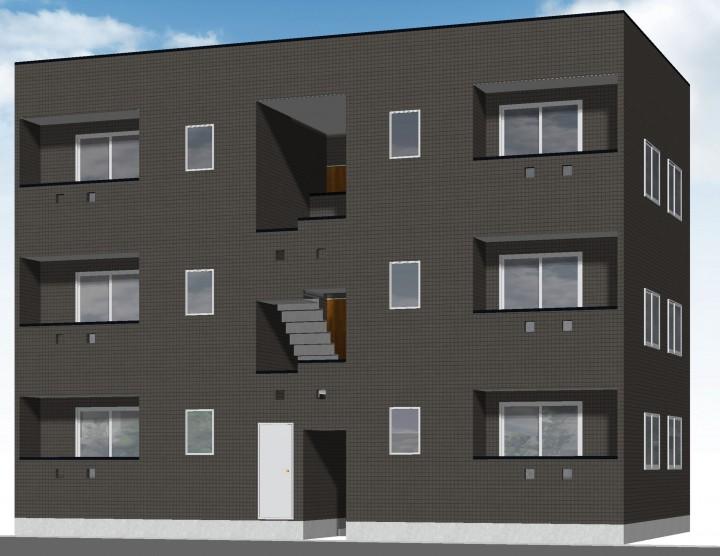 ☆10月完成予定・赤崎町の新築アパート募集開始します☆